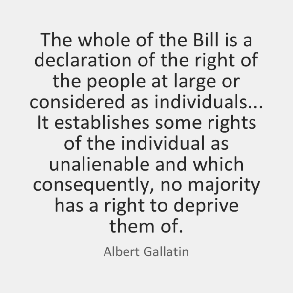 The whole of the Bill is a declaration of the right of ...