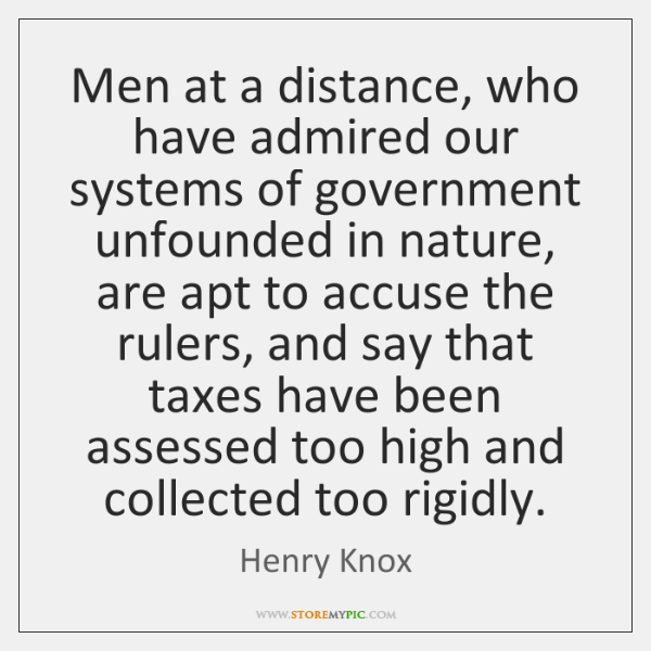 Henry Knox Quotes - - StoreMyPic