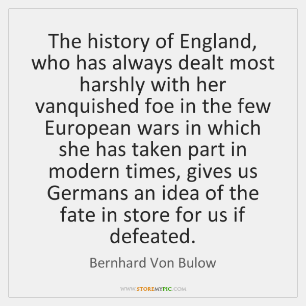 The history of England, who has always dealt most harshly with her ...