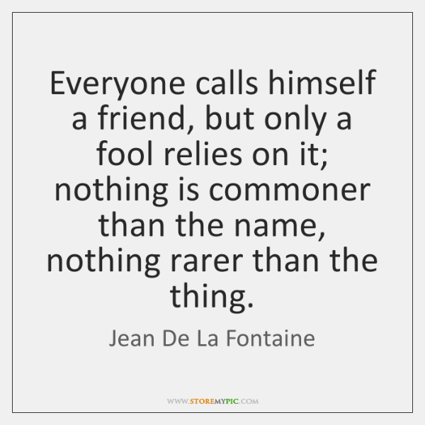 Jean De La Fontaine Quotes Storemypic