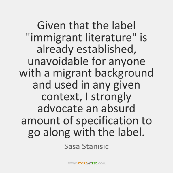Given that the label