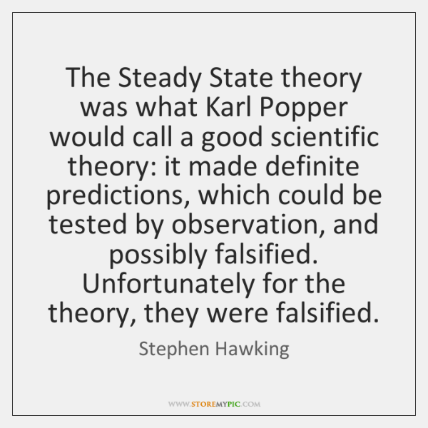 steady state theory and pulsating theory Transcript of the difference between the oscillating, steady sate the difference between the oscillating the steady-state theory is the idea that the.