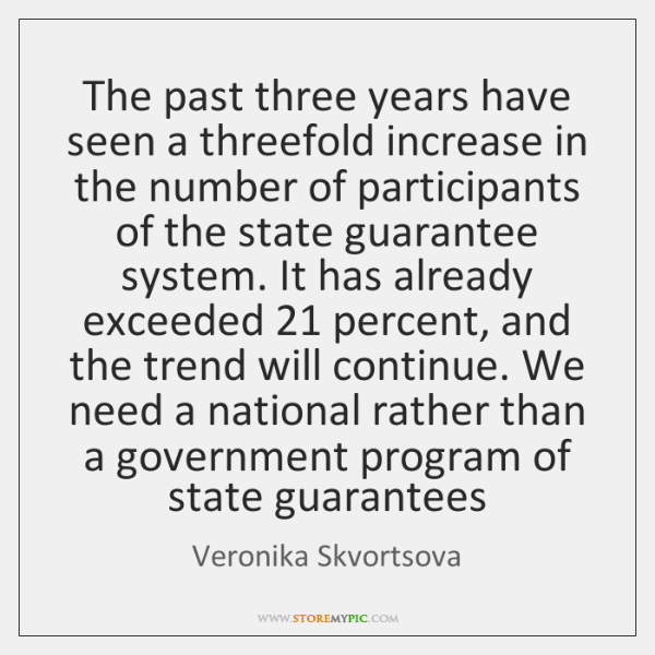 The past three years have seen a threefold increase in the number ...