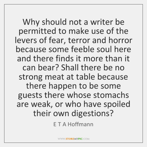 Why should not a writer be permitted to make use of the ...