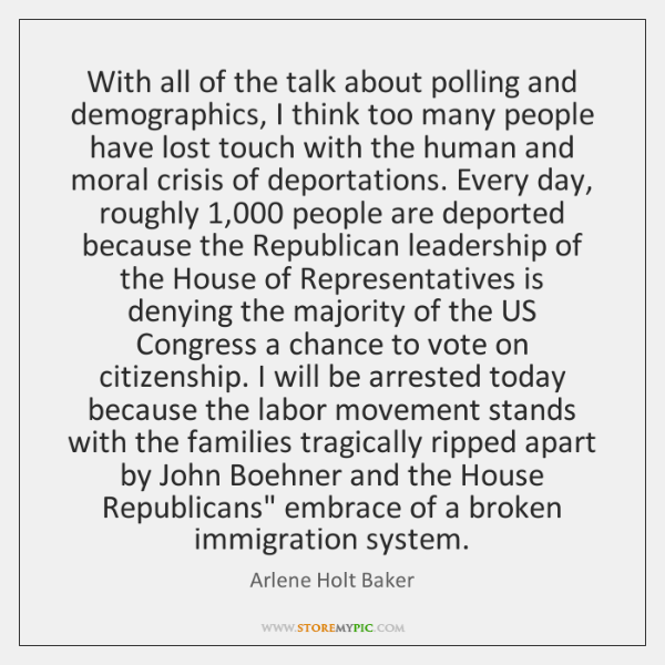 With all of the talk about polling and demographics, I think too ...