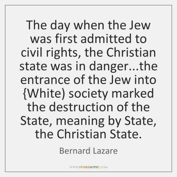 The day when the Jew was first admitted to civil rights, the ...