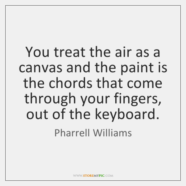 Pharrell Williams Quotes - StoreMyPic