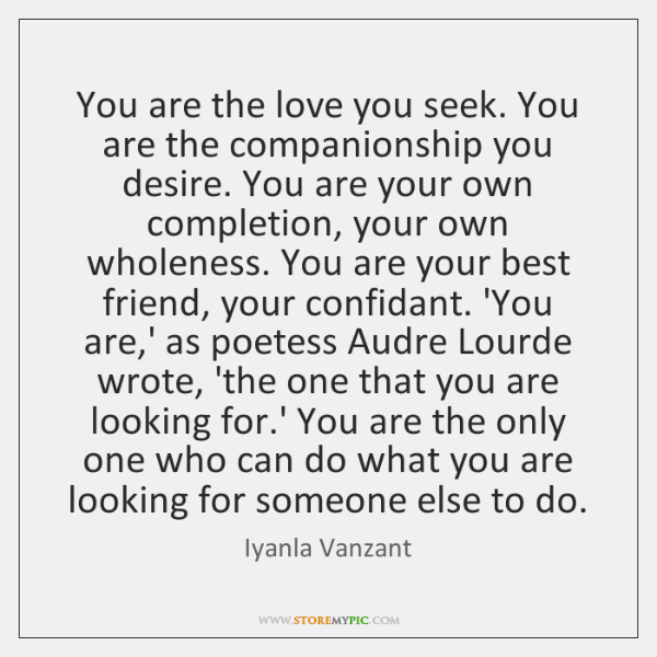 what is companionship love