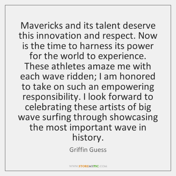 Mavericks and its talent deserve this innovation and respect. Now is the ...