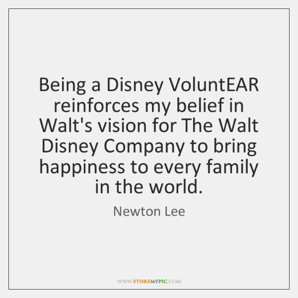 Being A Disney Voluntear Reinforces My Belief In Walt S Vision For