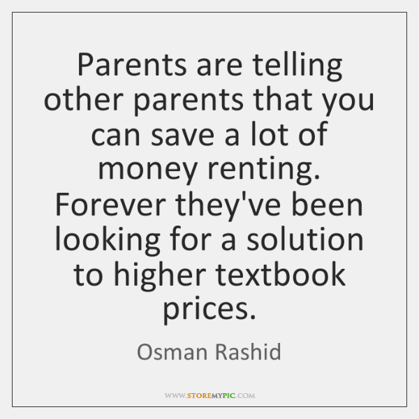 Parents are telling other parents that you can save a lot of ...