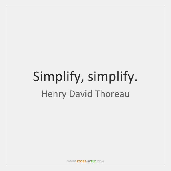 Simplify Simplify Storemypic