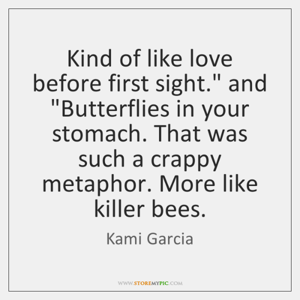 Kami Garcia Quotes Storemypic