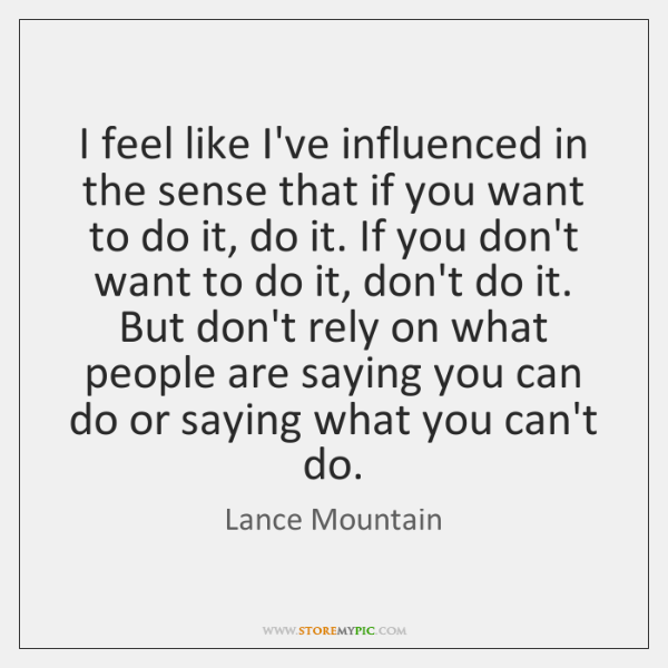 Lance mountain quotes