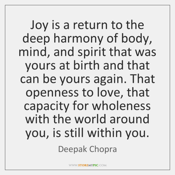Deepak Chopra Quotes StoreMyPic Enchanting A Return To Love Quotes
