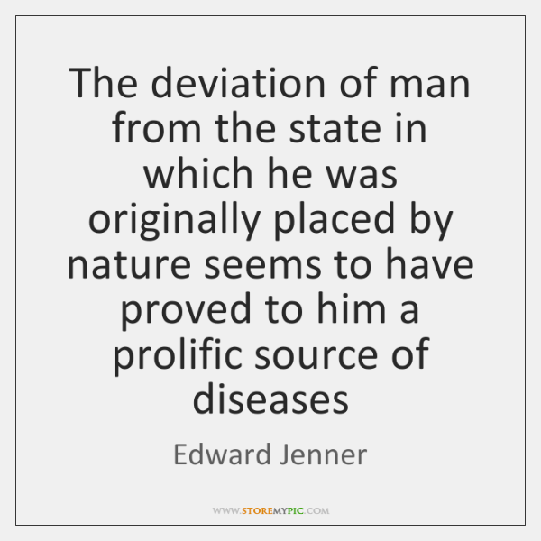 The deviation of man from the state in which he was originally ...