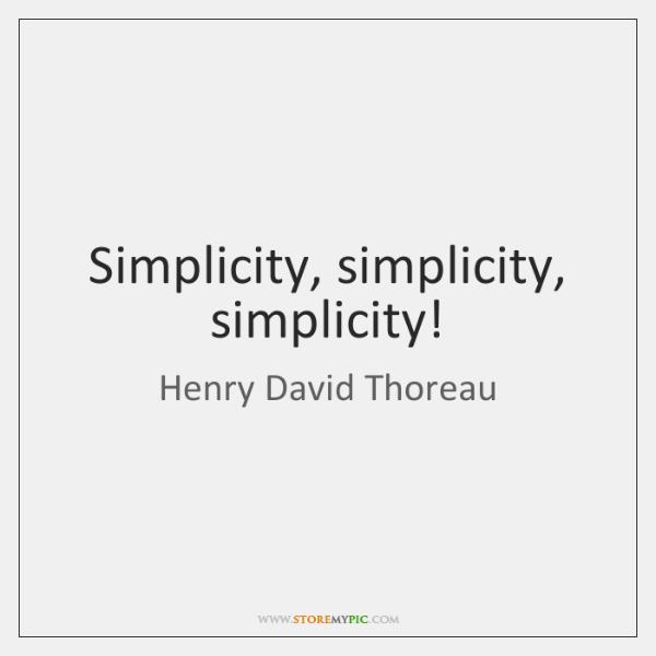 Simplicity Simplicity Simplicity Storemypic