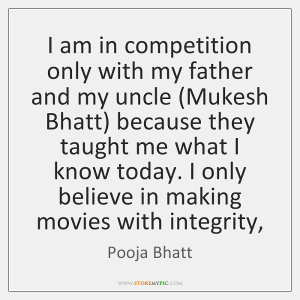 I am in competition only with my father and my uncle (Mukesh ...