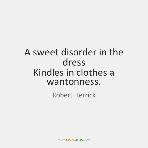a sweet disorder
