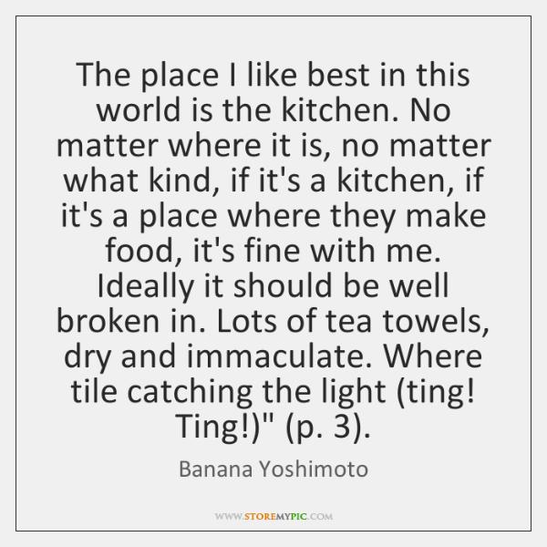 kitchen banana yoshimoto quotes