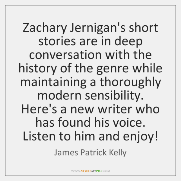 Zachary Jernigan's short stories are in deep conversation with the history of ...