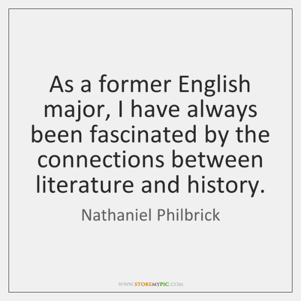 As a former English major, I have always been fascinated by the ...