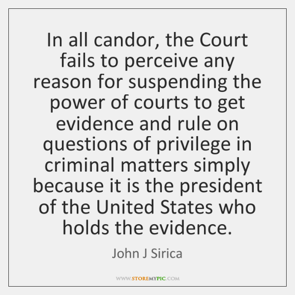 In all candor, the Court fails to perceive any reason for suspending ...
