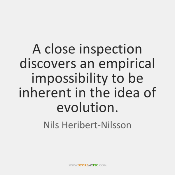 A close inspection discovers an empirical impossibility to be inherent in the ...