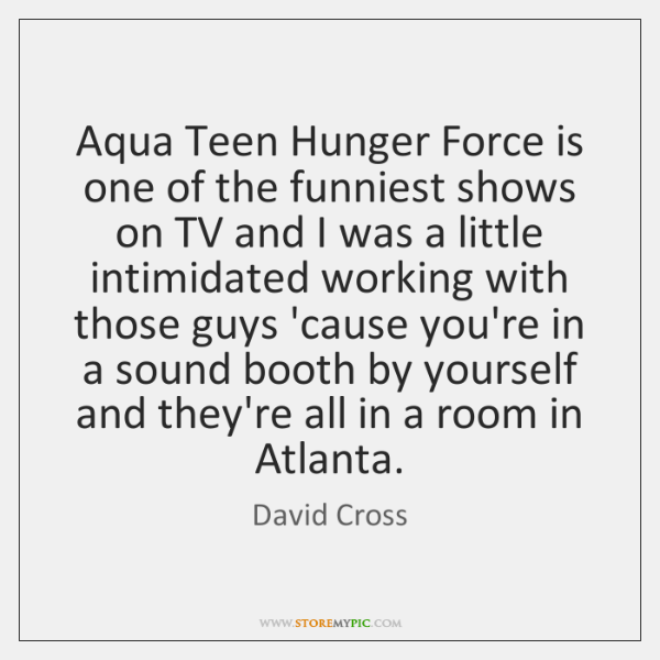Aqua Teen Hunger Force is one of the funniest shows on TV ...