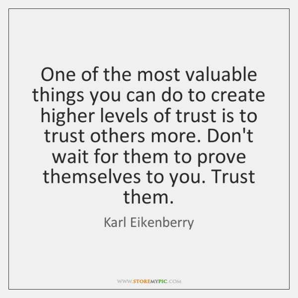 One of the most valuable things you can do to create higher ...