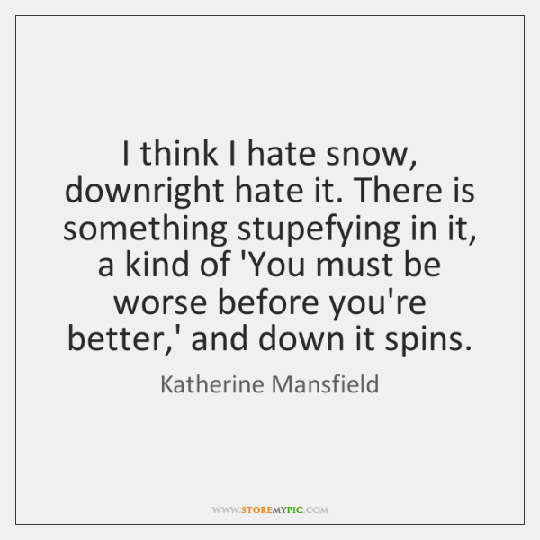 Katherine Mansfield Quotes Storemypic