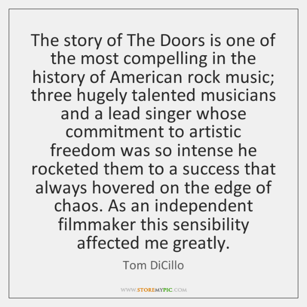 The story of The Doors is one of the most compelling in ...