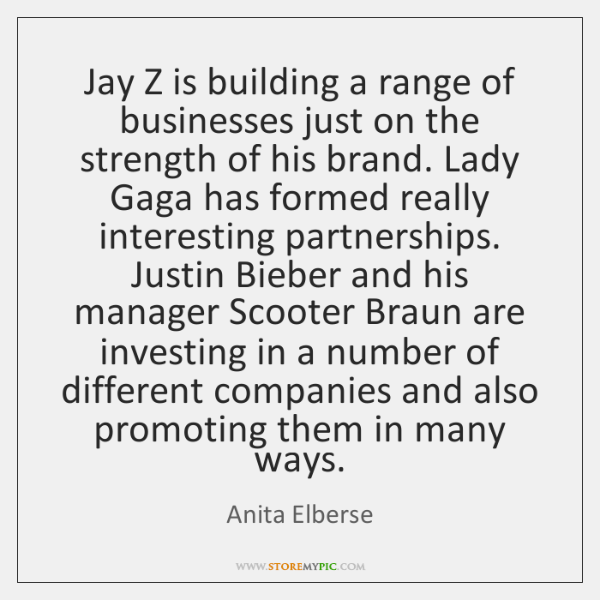 Jay Z is building a range of businesses just on the strength ...
