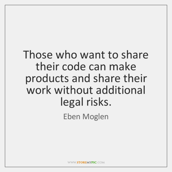 Those who want to share their code can make products and share ...