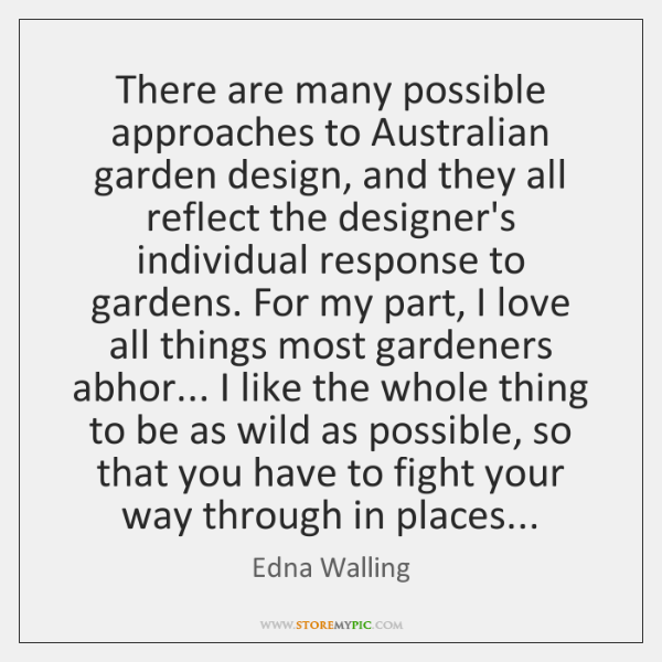 There are many possible approaches to Australian garden design, and they all ...