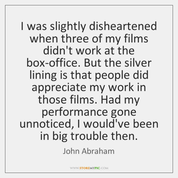 I was slightly disheartened when three of my films didn't work at ...