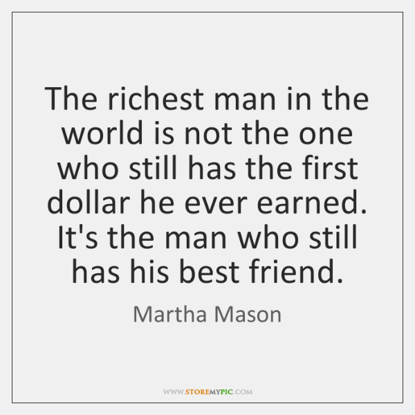The richest man in the world is not the one who still ...