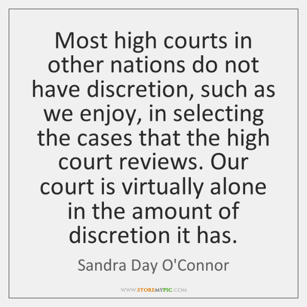 Sandra Day O'Connor Quotes StoreMyPic Gorgeous Sandra Day O Connor Quotes