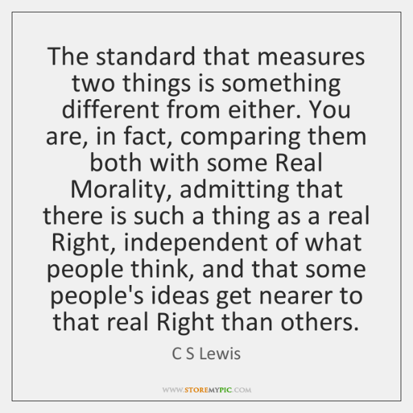 quotes about comparing two things