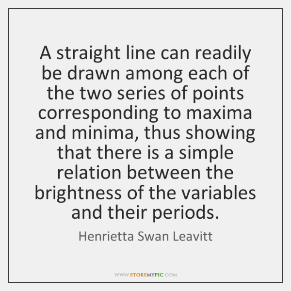 A straight line can readily be drawn among each of the two ...