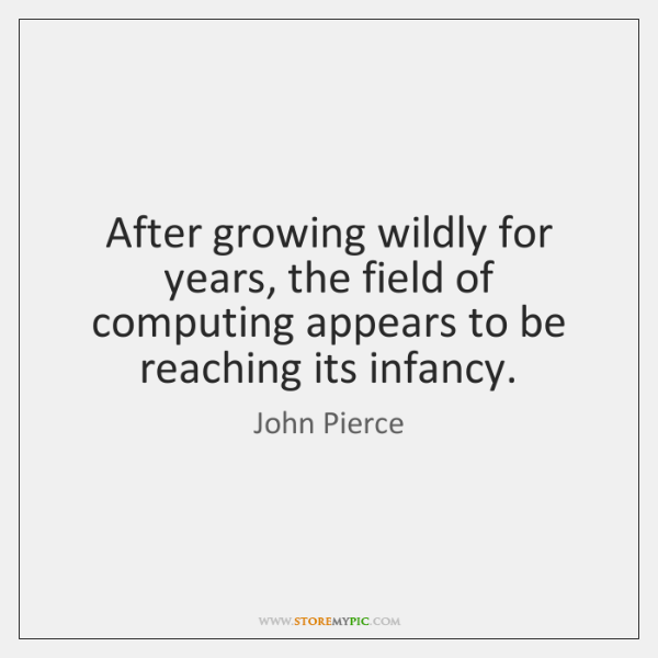 After growing wildly for years, the field of computing appears to be ...