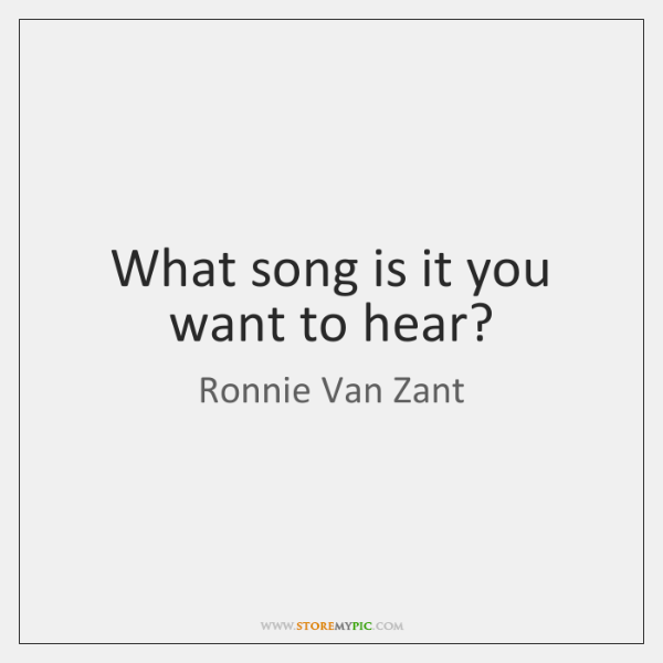 Ronnie Van Zant Quotes StoreMyPic Fascinating Ronnie Van Zant Quotes