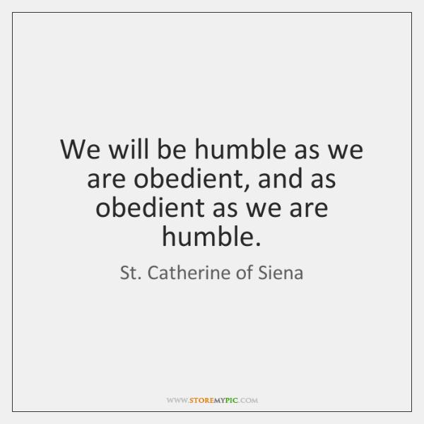 humble as