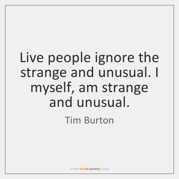 Tim Burton Quotes Storemypic