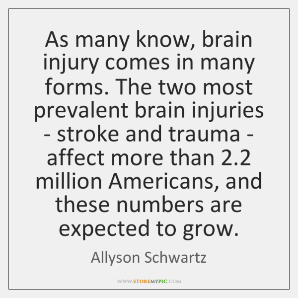 As many know, brain injury comes in many forms. The two most ...
