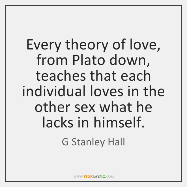 love according to plato