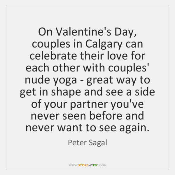 On Valentine's Day, couples in Calgary can celebrate their love for each ...