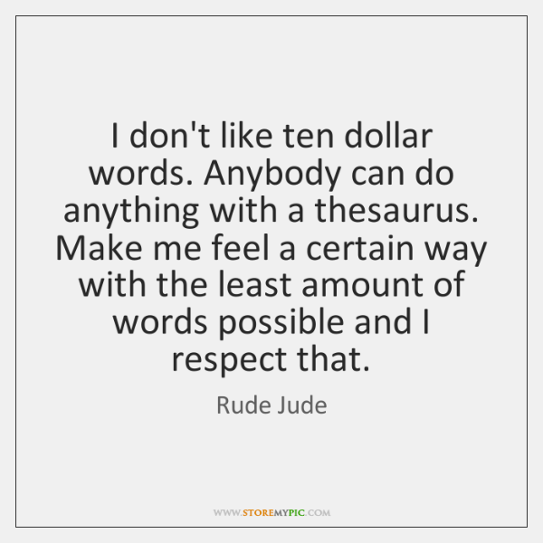 Rude Jude Quotes Storemypic
