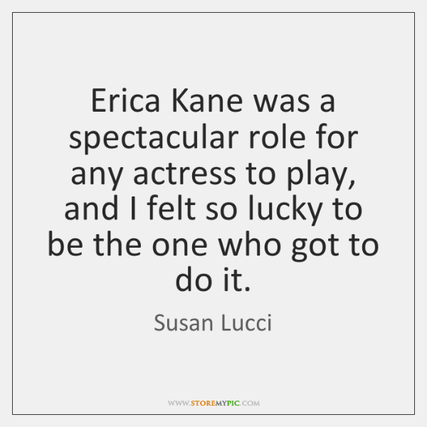 Erica Kane was a spectacular role for any actress to play, and ...