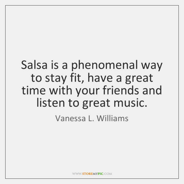 Salsa Is A Phenomenal Way To Stay Fit Have A Great Time